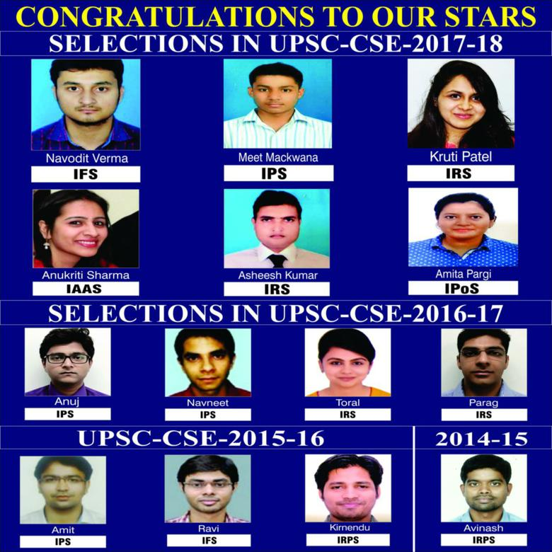Congratulations to our starts selections in upsc-2017-18